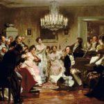 Músicos profissionais e amadores em Viena