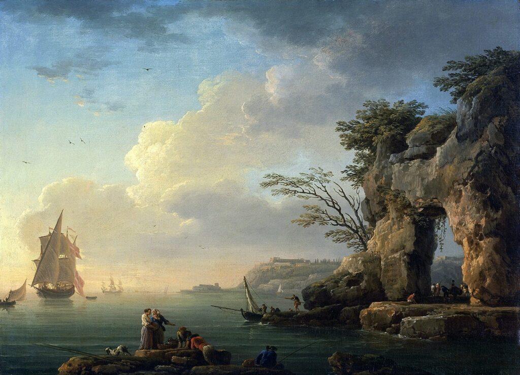 'A Calm Sea', Claude-Joseph Vernet