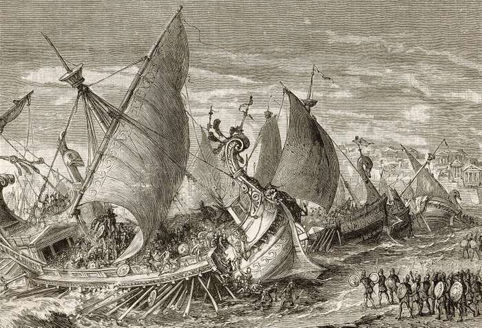 forces-Athenian-harbour-Syracuse-Sicily-