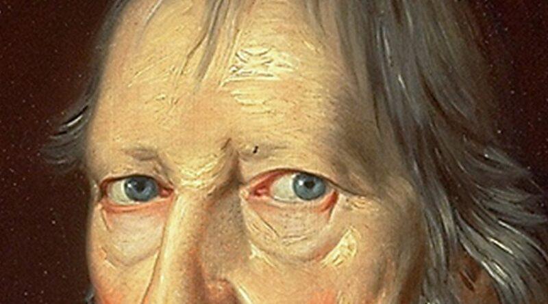 """Hegel: """"Certamente você me vê"""""""