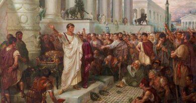 A tragédia de Júlio César